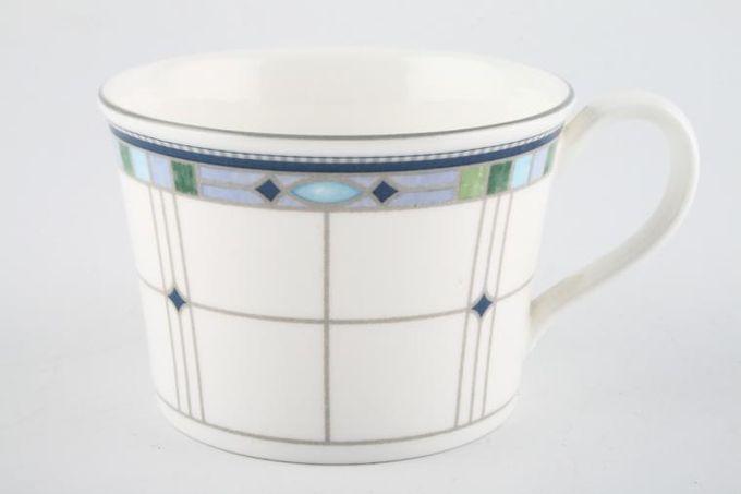 """Wedgwood Quadrants Teacup 3 3/8 x 2 3/8"""""""