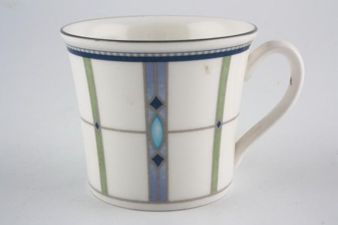 "Wedgwood Quadrants Coffee Cup 2 1/2 x 2 1/4"""