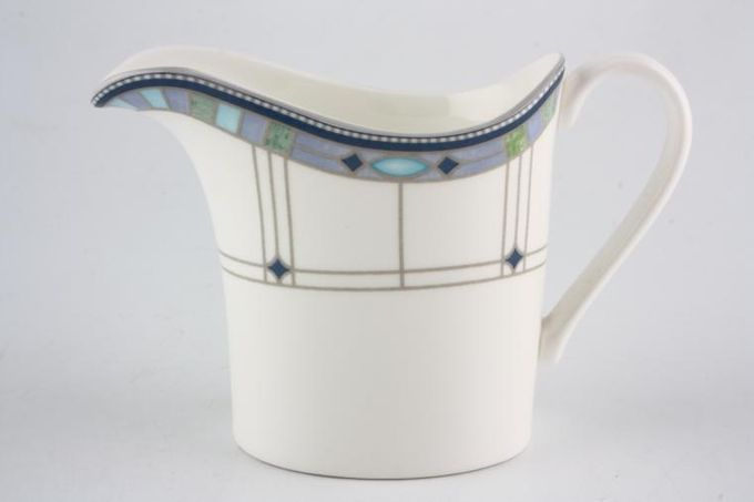 Wedgwood Quadrants Milk Jug 1/3pt