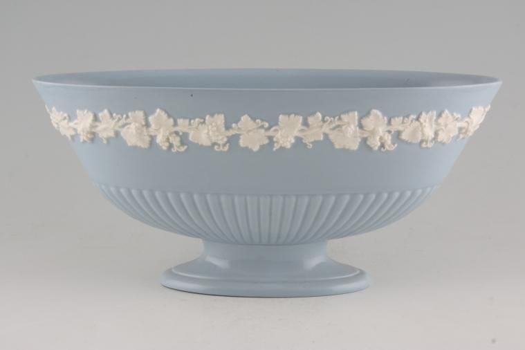 No Obligation Search For Wedgwood Queens Ware White Vine On Blue