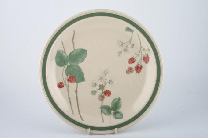 "Wedgwood Raspberry Cane - Granada Shape Dinner Plate 10 1/2"""