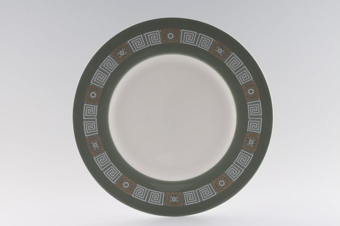 """Wedgwood Asia - Green - No Gold Dinner Plate 10 3/4"""""""