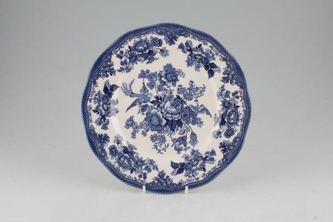 "Wedgwood Asiatic Pheasant - Blue Breakfast / Lunch Plate 8 3/4"""