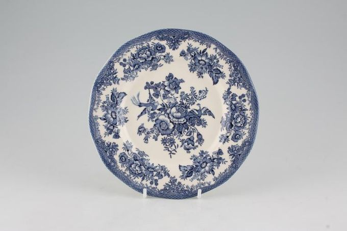 "Wedgwood Asiatic Pheasant - Blue Dessert / Salad Plate 7 3/4"""