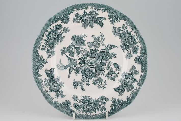 Wedgwood Asiatic Pheasant - Petrol Blue