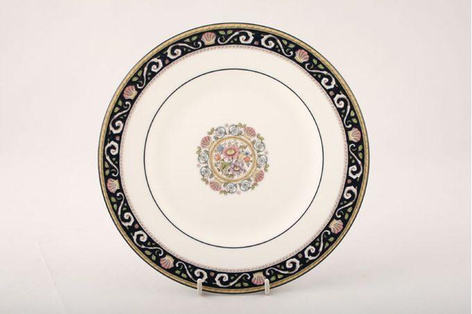 "Wedgwood Runnymede - Dark Blue Breakfast / Salad / Luncheon Plate 8 7/8"""