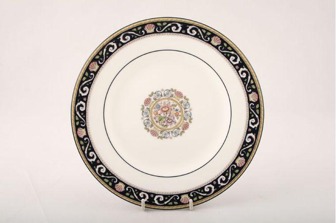 "Wedgwood Runnymede - Dark Blue Starter / Salad / Dessert Plate 8"""