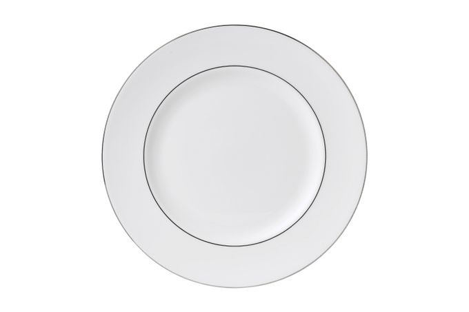 "Wedgwood Signet Platinum Dinner Plate 10 3/4"""