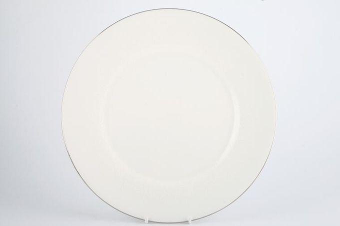 "Wedgwood Silver Ermine Dinner Plate 10 3/4"""