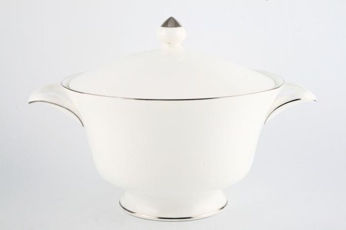 Wedgwood Silver Ermine Vegetable Tureen with Lid