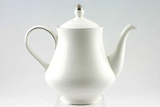 Wedgwood Silver Ermine Teapot 2pt