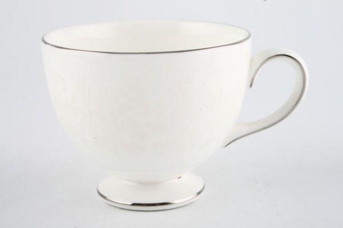 """Wedgwood Silver Ermine Teacup Leigh 3 1/4 x 2 3/4"""""""