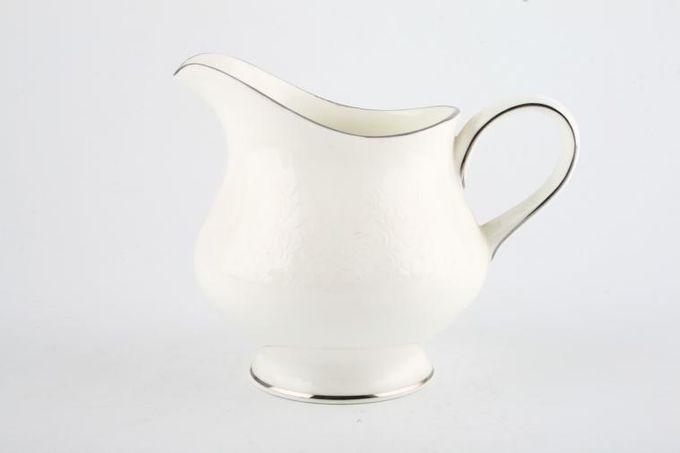 Wedgwood Silver Ermine Milk Jug 1/2pt