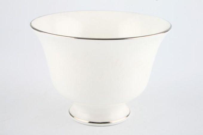 """Wedgwood Silver Ermine Sugar Bowl - Open (Tea) 4 1/2"""""""