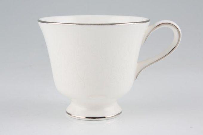 """Wedgwood Silver Ermine Coffee Cup 2 3/4 x 2 1/2"""""""