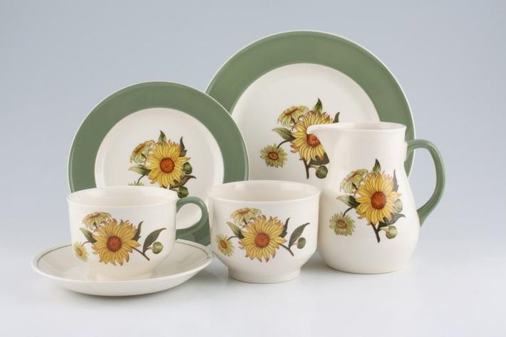 Wedgwood Sunflower