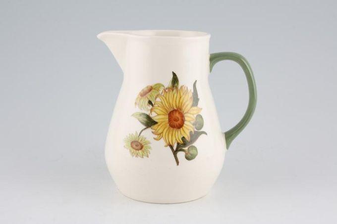 Wedgwood Sunflower Jug 1 1/4pt