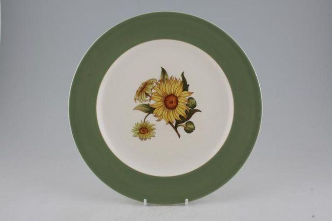 """Wedgwood Sunflower Dinner Plate 10 3/8"""""""