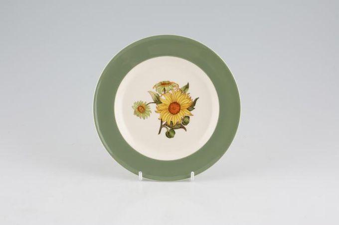 "Wedgwood Sunflower Tea / Side Plate 6 1/4"""