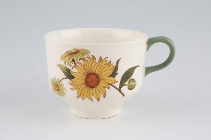 Wedgwood Sunflower Teacup 3 3/8 x 2 1/2""