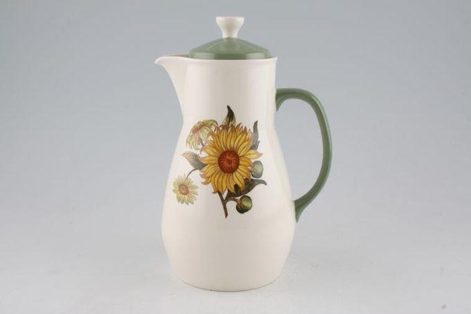 Wedgwood Sunflower Coffee Pot 2pt