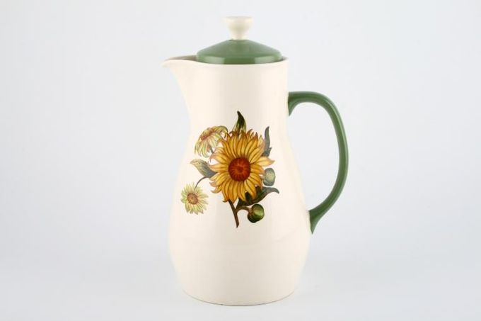 Wedgwood Sunflower Coffee Pot 1 1/2pt