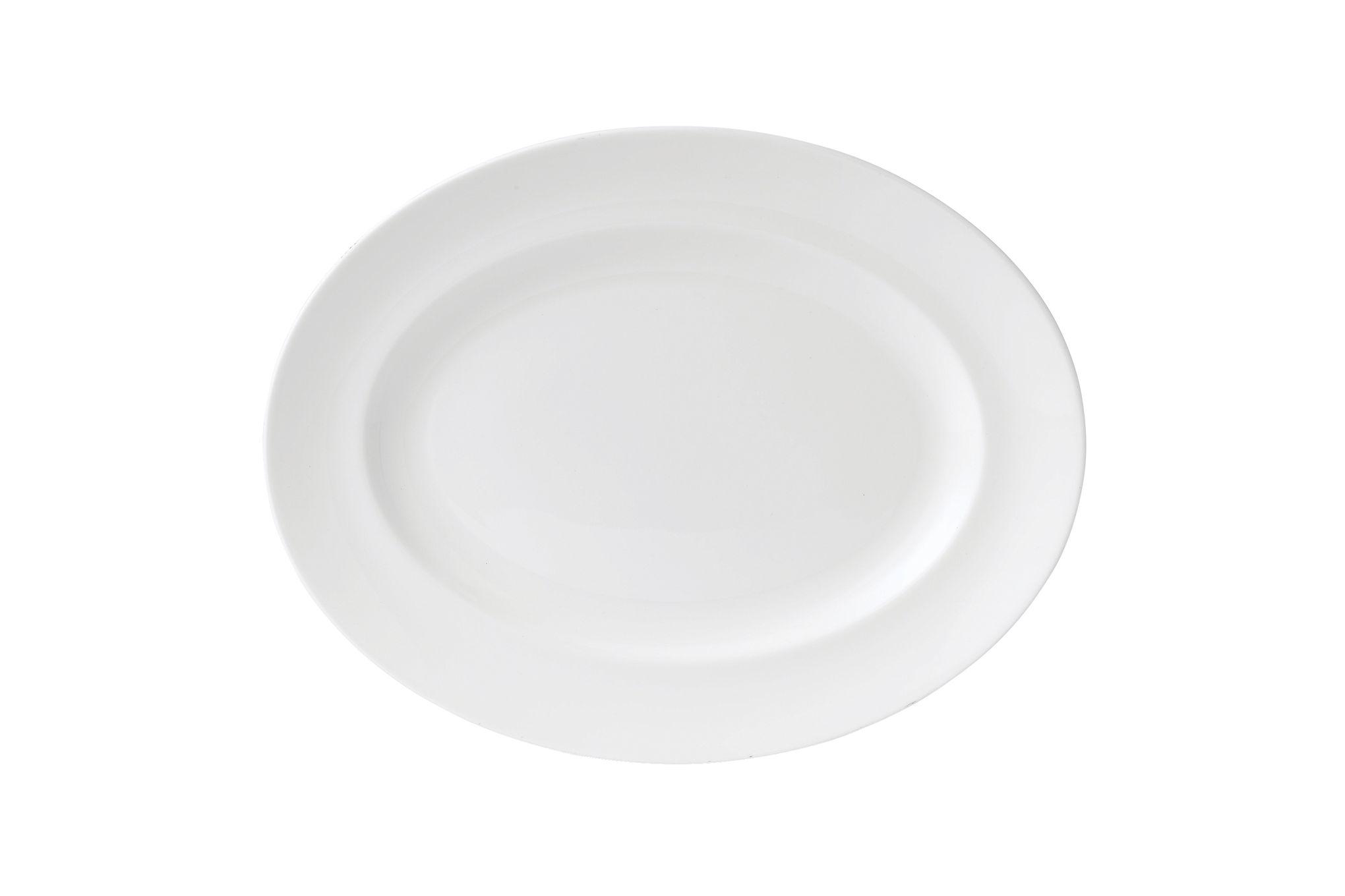 Wedgwood Wedgwood White Oval Plate / Platter 35cm thumb 1