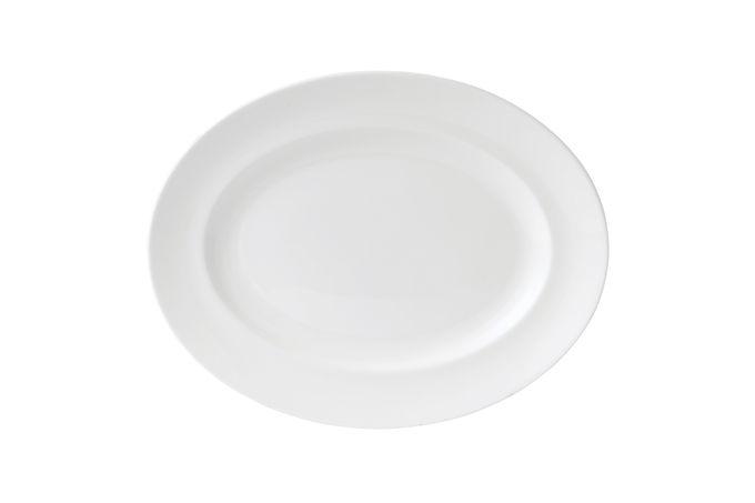 Wedgwood Wedgwood White Oval Plate / Platter 35cm