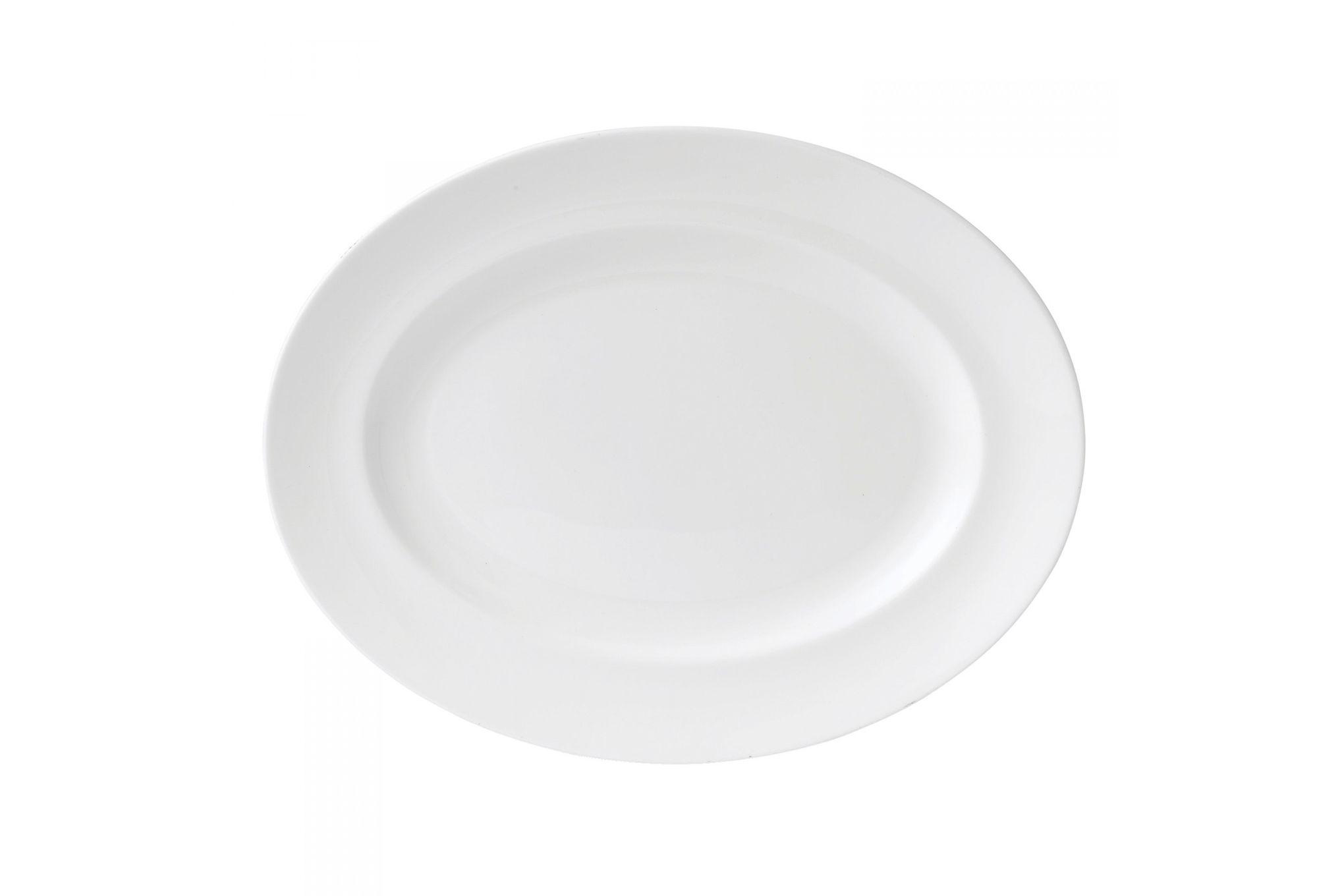 Wedgwood Wedgwood White Oval Plate / Platter 35cm thumb 2