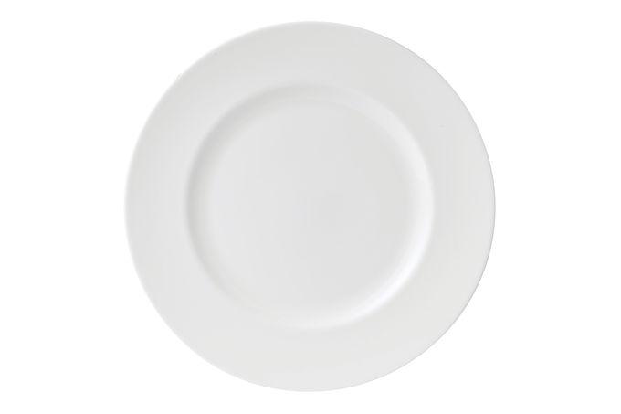 "Wedgwood Wedgwood White Dinner Plate 10 5/8"""