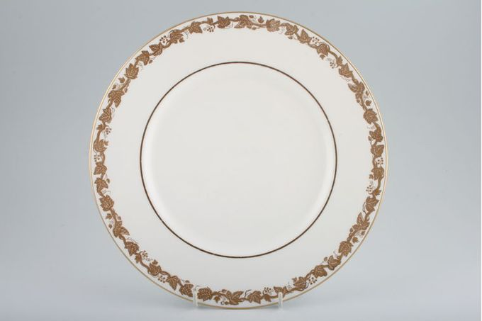 Wedgwood Whitehall - White + Gold - W4001 Dinner Plate 10 3/4""