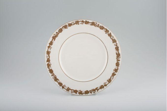 "Wedgwood Whitehall - White + Gold - W4001 Starter / Salad / Dessert Plate 8"""