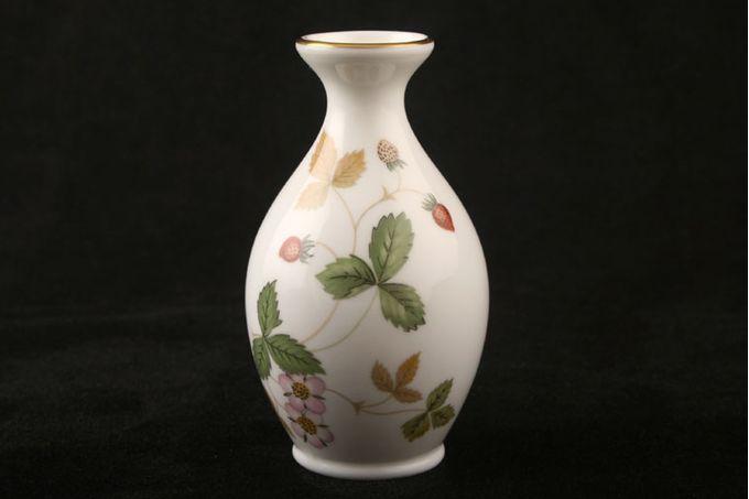 """Wedgwood Wild Strawberry Bud Vase 3 1/2"""""""