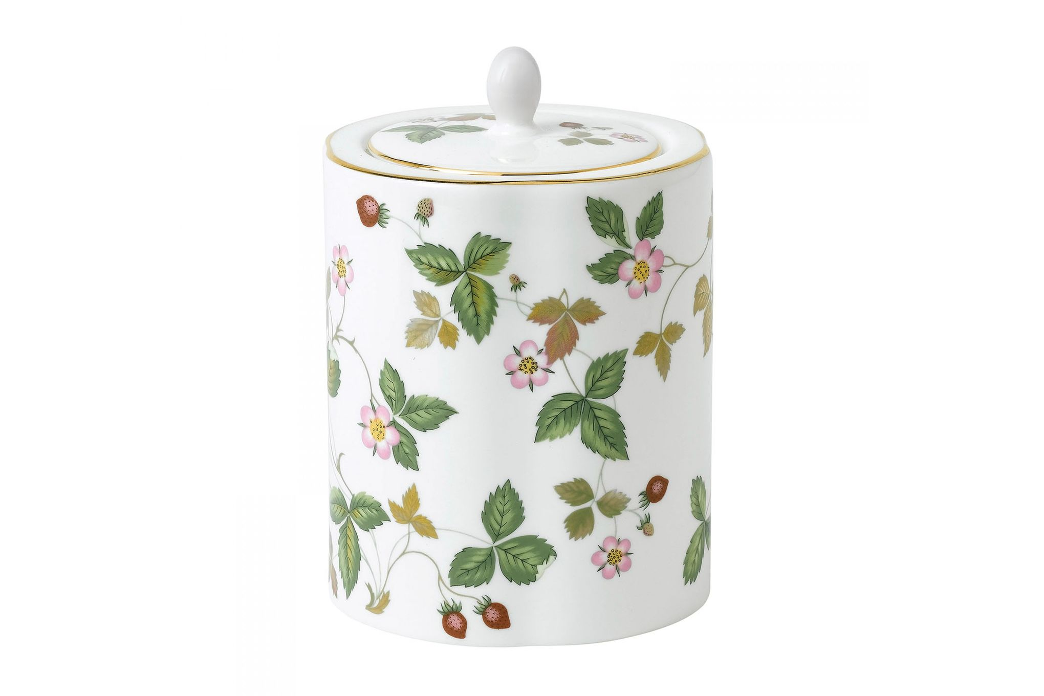 Wedgwood Wild Strawberry Tea Caddy Gift Boxed thumb 1