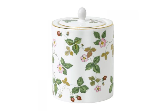 Wedgwood Wild Strawberry Tea Caddy Gift Boxed
