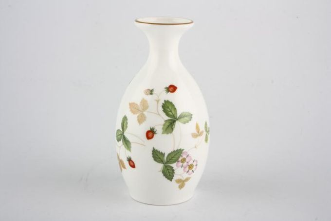 Wedgwood Wild Strawberry Bud Vase 5""