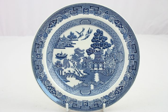 Wedgwood Willow - Blue