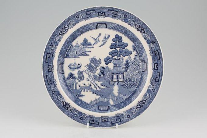 "Wedgwood Willow - Blue Dinner Plate 10"""