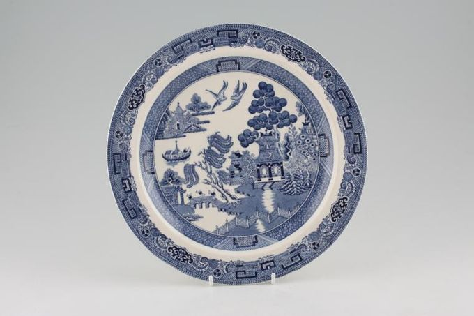 """Wedgwood Willow - Blue Breakfast / Salad / Luncheon Plate 9 1/4"""""""