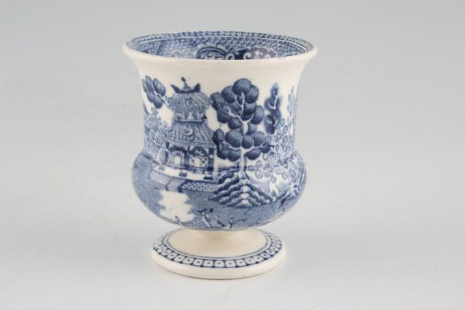 Wedgwood Willow - Blue Egg Cup Footed