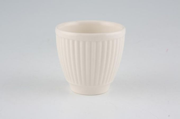 """Wedgwood Windsor - Cream Egg Cup Not Footed 2 x 2"""""""