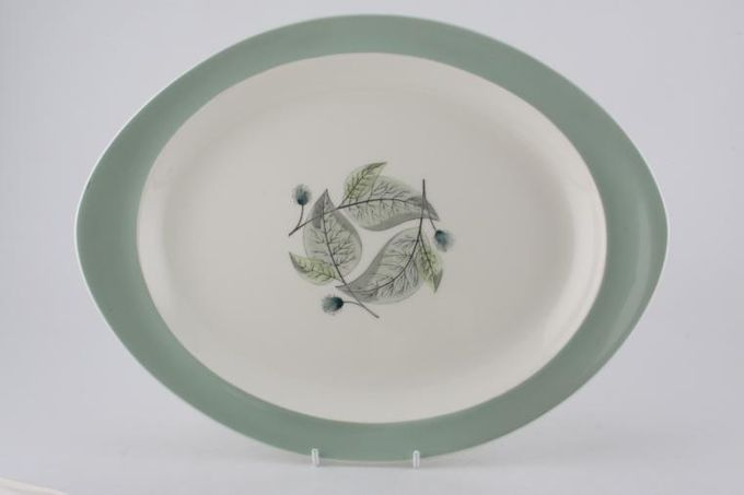 "Wedgwood Woodbury Oval Plate / Platter 13"""