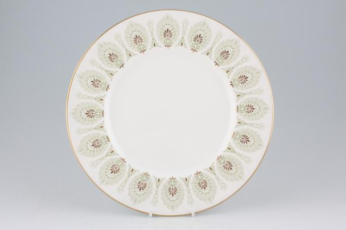 "Wedgwood Medina - Green Dinner Plate 10 7/8"""