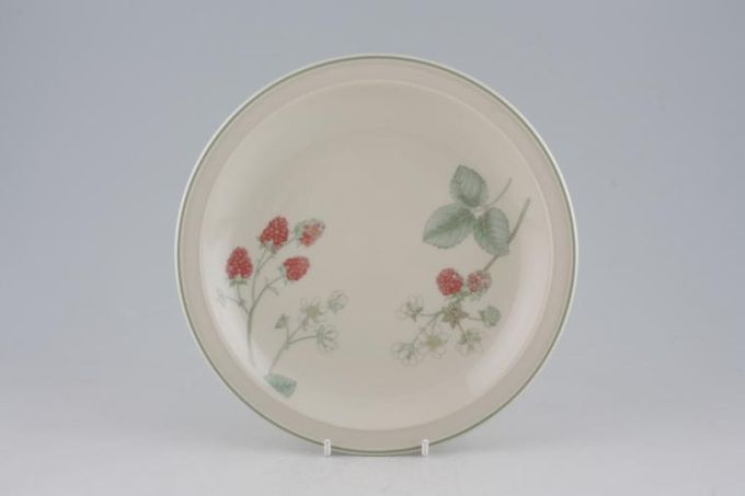 Wedgwood Raspberry Cane - Sterling Shape Breakfast / Salad / Luncheon Plate 8 7/8""
