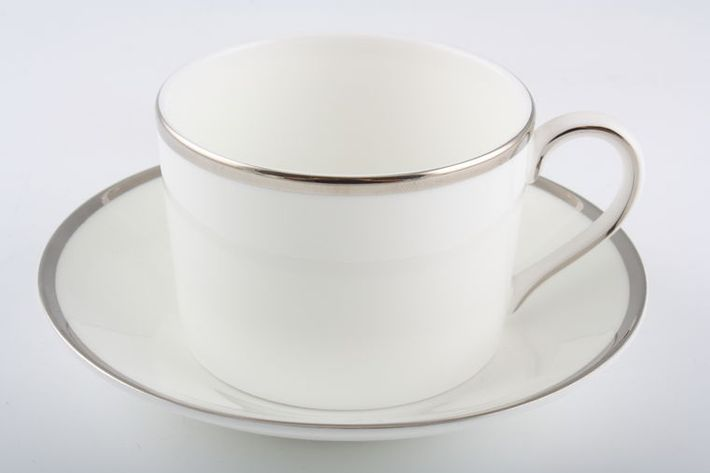 Wedgwood Sterling - White with Silver Band