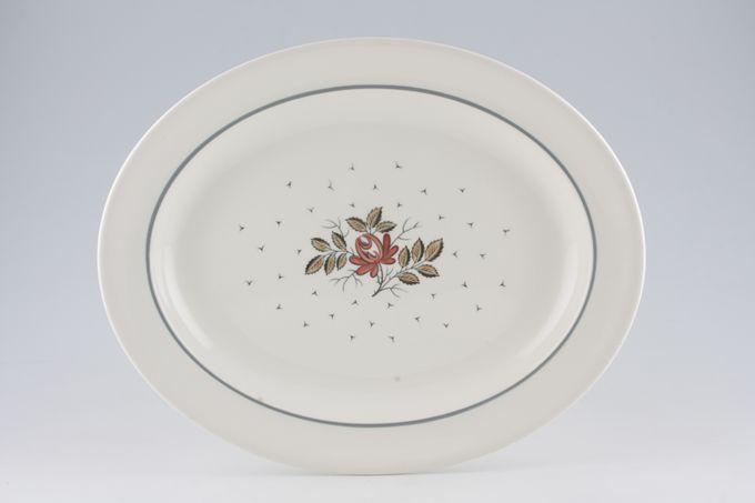"Wedgwood Talisman Oval Plate / Platter Oval 14 1/2"""