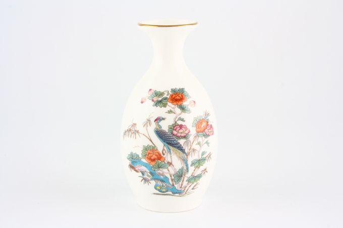 """Wedgwood Kutani Crane - Gold Edge Bud Vase 5"""""""