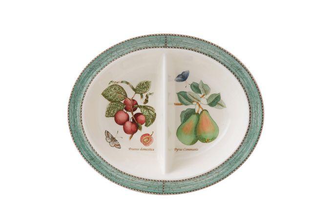 Wedgwood Sarah's Garden Vegetable Dish (Divided) Green