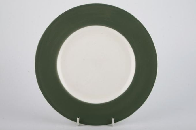Wedgwood Asia - Green - No Pattern Dinner Plate 10 5/8""
