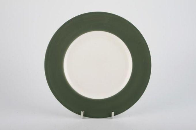 "Wedgwood Asia - Green - No Pattern Starter / Salad / Dessert Plate 8 1/8"""